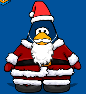 Santa Outfit in Club Penguin